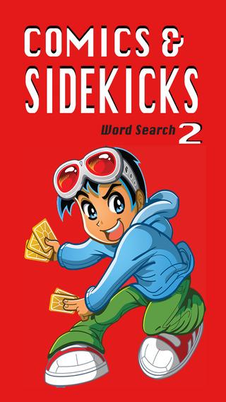 Comics and Sidekicks Word Search 2