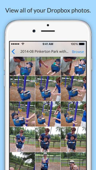 Shutterbox for Dropbox - View Your Dropbox Photo Albums