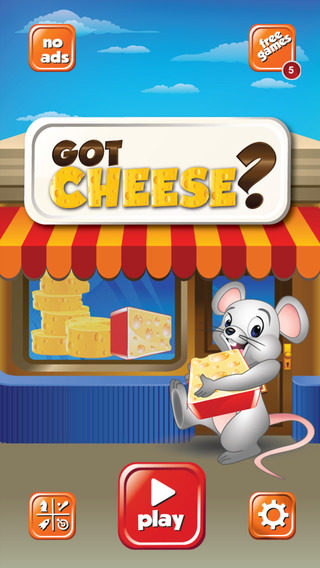 Got Cheese - Fun Game To Help The Little Hungry Mouse Catch Cheese