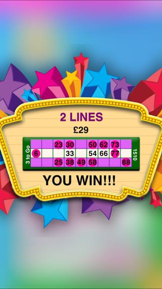 Live Bingo iPhone Screenshot 4