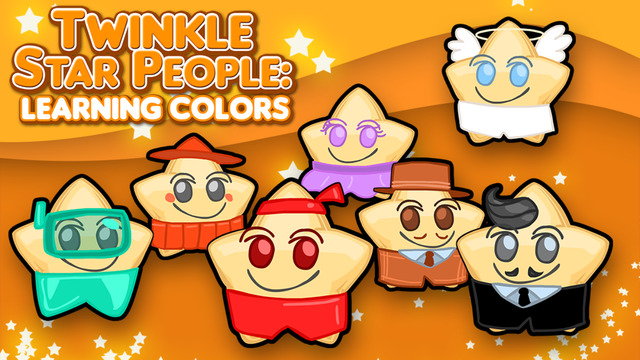 Twinkle Star People: Learning Colors