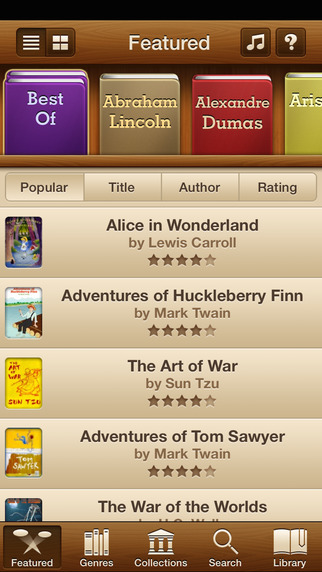 Audiobooks - 2 947 Classics For Free. The Ultimate Audiobook Library