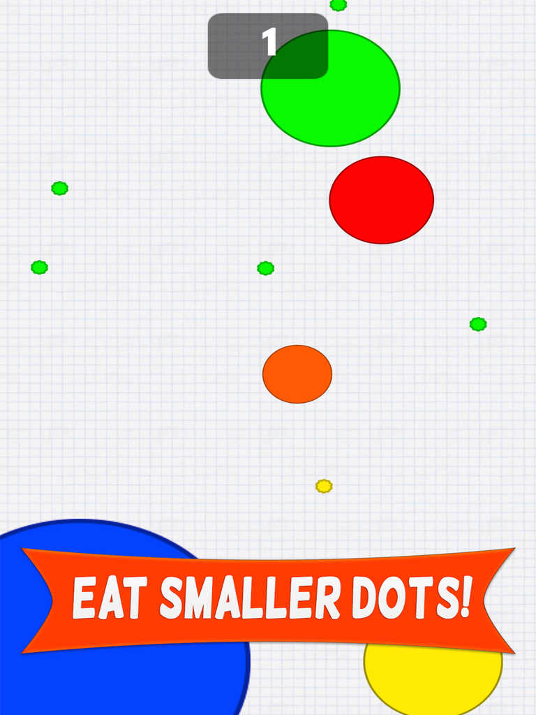 Eat The Dots Crazy Arcade Game on Connect The Dots Unicorn