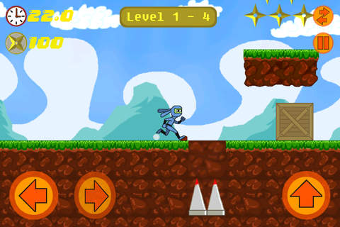 Ninja Ball Dash screenshot 2