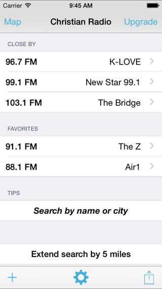 Christian Radio Locator