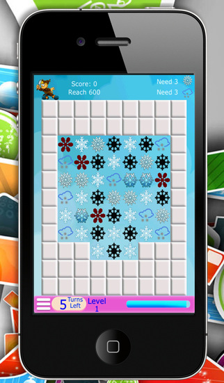 Snowflake Match Up - The Classic Puzzle Game
