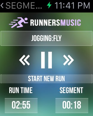 Running Music Trainer Screenshots