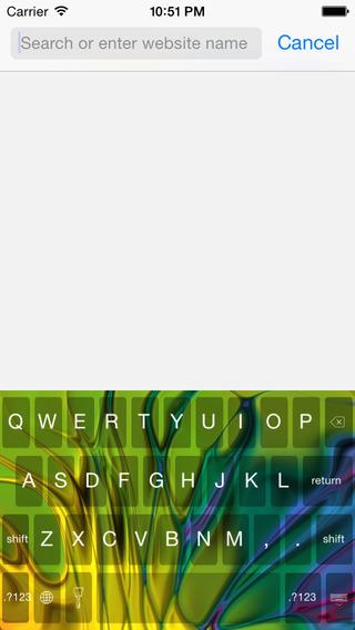 Abstract Art Keyboard