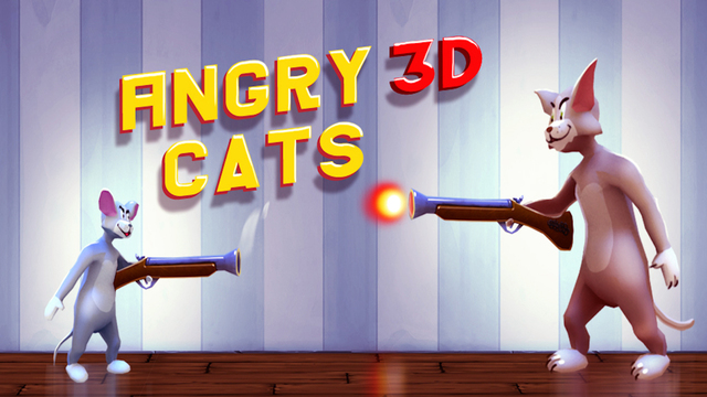 Angry Cats 3D Pro