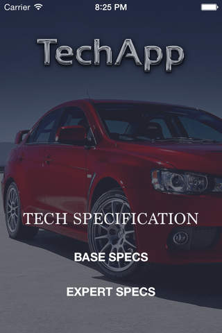 TechApp for Mitsubishi screenshot 1