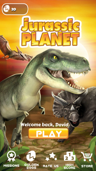 Jurassic Planet - Dinosaur Endless Runner Game