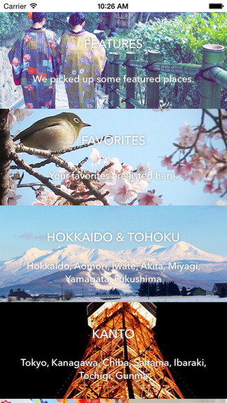 Discover JAPAN - Find beautiful places in Japan
