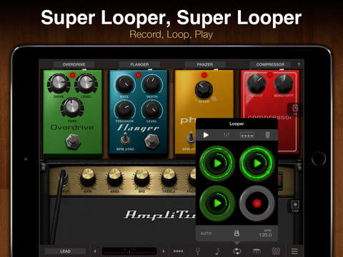 AmpliTube for iPad iPad Screenshot 3