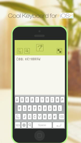 Cool Keyboard - Free Fantastic Fonts Symbols and Emojis Keyboards
