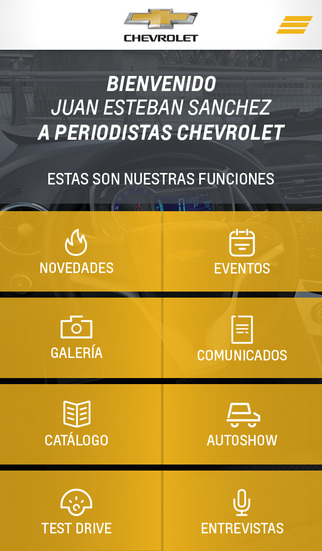 Periodistas Chevrolet