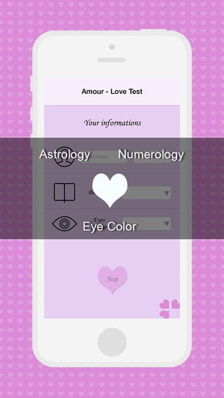Amour - Love Test