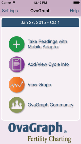 OvaGraph - Free Ovulation Calendar and Fertility BBT Charting
