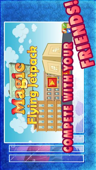 Magic Flying Jetpack Pro - Endless Fun Fly and Shooting Game
