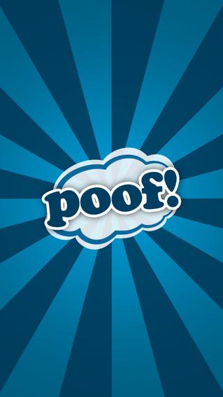 Poof Its Gone iPhone Screenshot 1