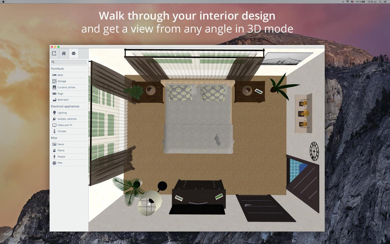 App shopper bedroom design 5d bedroom plans interior - Interior design apps for mac ...