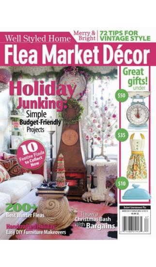 Flea Market Décor- The 1 Source for Bargain Decorating Ideas.