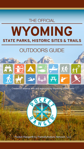 Wyoming State Parks Historic Sites Trails Guide- Pocket Ranger®