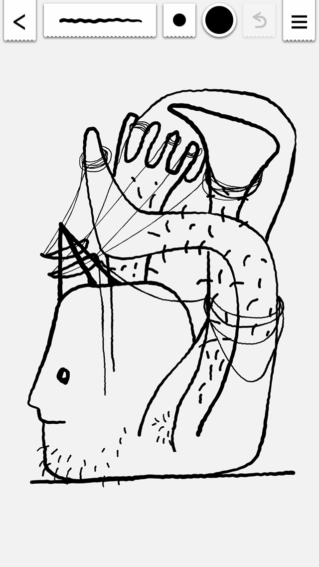 Line Drawing App : App shopper tremor jittery line drawing entertainment