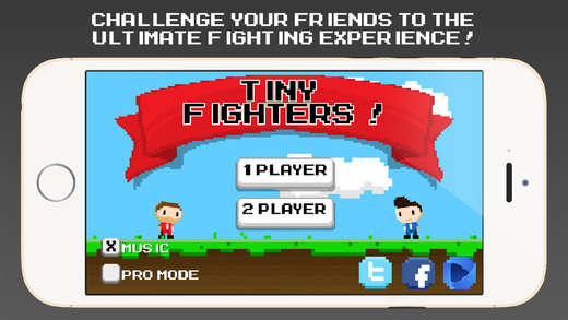 Tiny Fighters - Physics Based Fighting
