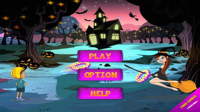 Halloween Donut Toss - The Scary Witches Academy Mania- Pro