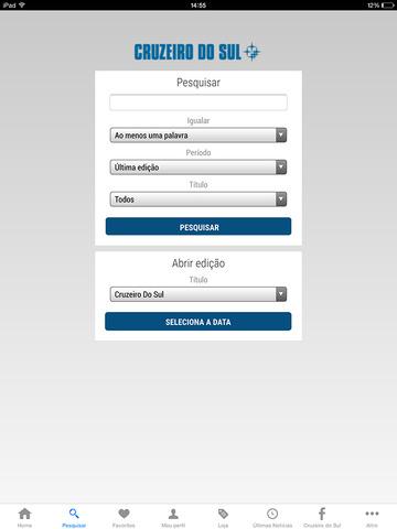 Jornal Cruzeiro do Sul Digital-ipad-3