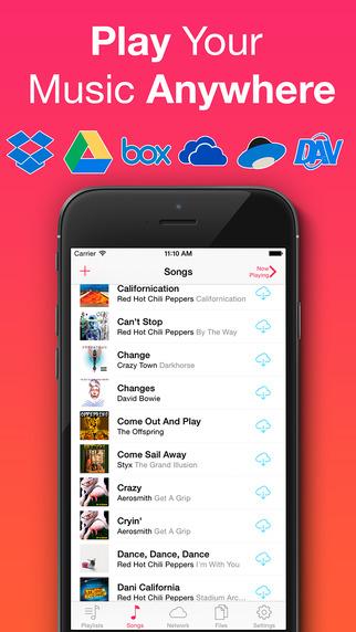 《云端存储 音乐无界 : Evermusic Pro [iOS]》