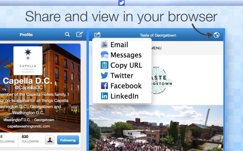 TwitterApp Screenshot - 3
