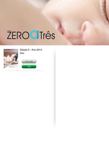 Revista Zero a Três