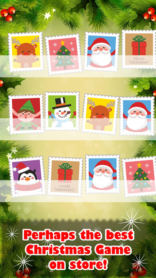 Christmas Stamps Collection - Friendly Matching Game For Winter Holidays