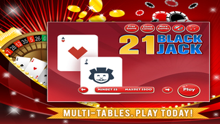 21 Blackjack FREE - Play and Practice Classic Basic Strategy