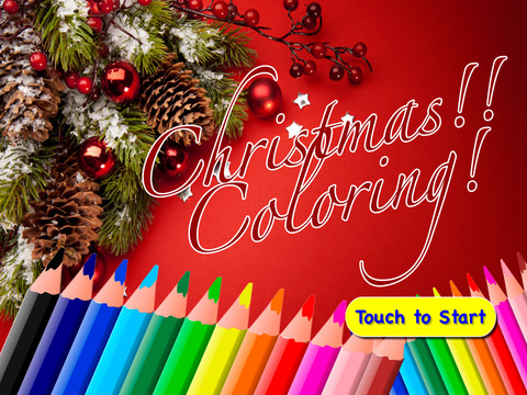 Merry Christmas Coloring