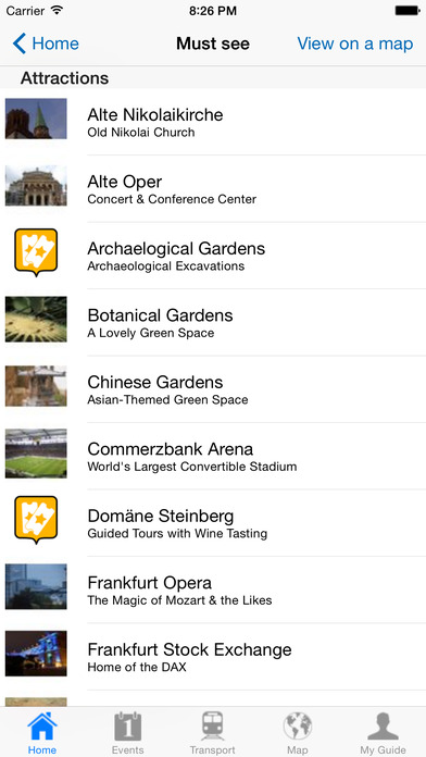 Frankfurt Travel Guide Offline iPhone Screenshot 4