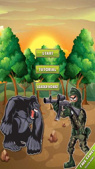 Ultimate Combat and Survival of Apes: Army Age of