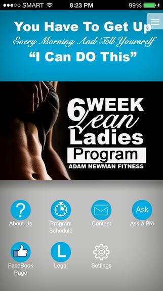 Lean Ladies 6 week Program