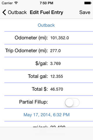 Logbook Fuel and Maintenance Tracker screenshot 4