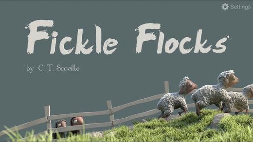 【免費書籍App】Fickle Flocks-APP點子