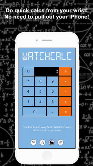 WatchCalc - Calculator for Quick Calculations on your Apple Watch