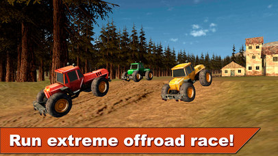 Farming Tractor Racing 3D Full screenshot 2