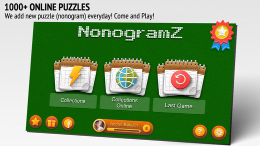 NonogramZ Free: 1000+ online nonogram-puzzles