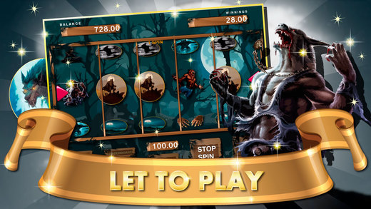 Lycan Werewolf on the Hunt Slot Machine :Wolfman Jackpot Games