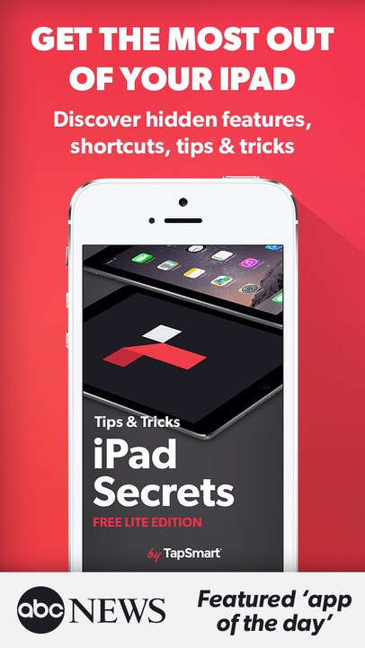 Tips & Tricks - Secrets for iPad (Free Lite Edition) - iPhone Mobile Analytics and App Store Data
