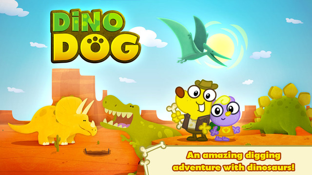 Dino Dog ~ A Digging Adventure with Dinosaurs