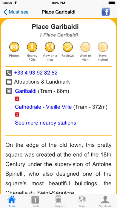 Nice Travel Guide Offline iPhone Screenshot 5