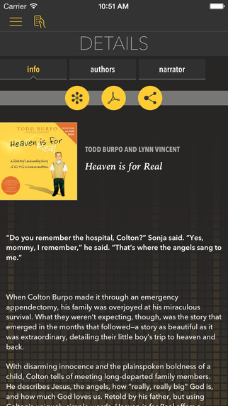 Heaven is for Real [by Todd Burpo with Lynn Vincent]