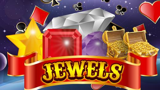 Slots Hit it Big Jewel Gems Jackpot Machine Riches Casino Slot Games Pro